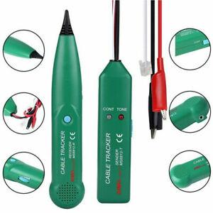 Netzwerk Kabelsucher Cable Tracker Kabeltester Prüfgerät Leitungssuchgerät AC DE