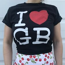 """I Heart Gb Gorilla Biscuits """"Start Today"""" Concert T Sz Small 2006 Reunion Tee"""