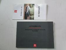 Manuale uso e manutenzione navigatore Citroen C5 edizione 2001  [3501.14]
