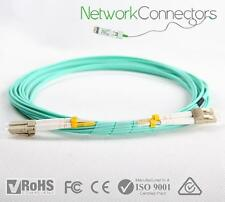 LC - LC OM3 Duplex Fibre Optic Cable (90M)