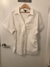 Lands End White Shirt Size 22 As New RRP $139.99