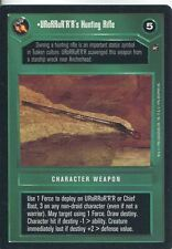 Star Wars CCG A New Hope Limited BB URoRRuR'R'R's Hunting RIfle
