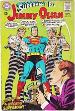 SUPERMAN'S PAL JIMMY OLSEN #114 / 1968 / THE WRONGO SUPERMAN / DC COMICS