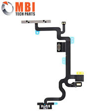"""Replacement Power ON/OFF Volume Mute Flex Ribbon Cable + Mic for iPhone 7 4.7"""""""