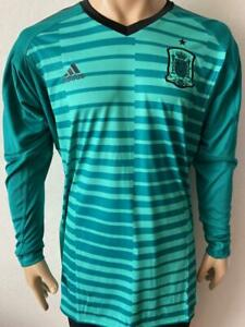 Jersey Spain 2017 18 Goalkeeper long sleeve Player issue
