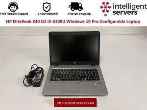 HP EliteBook 840 G3 i5-6300U Windows 10 Pro Configurable Laptop