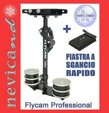 Flycam DSLR Nano + Piastra   Steady Cam Stabiliser Treppiedi Stabilizzatore dslr