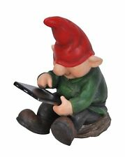 Vivid Arts Playful Gnome Son with Leafpad