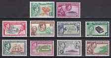 PITCAIRN ISLANDS - 1940 - King George VI. Complete set, 10v. Mint NH