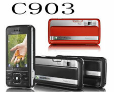 "Sony Ericsson C903  3G Bluetooth MP3 Player 2.4"" 5MP Camera Original Cell Phone"