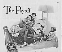 1937 Hires Root Beer Vintage Print Ad Soda Beverage  Charles E. Hires Company