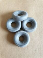 Dinky Toys 235 H.W.M. Racing Car Reproduction  Tyres Set Of 4 New.