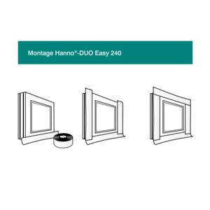 Hanno Duo Easy Fensterband 75mm Folienband Fensteranschlussband innen+außen 25m