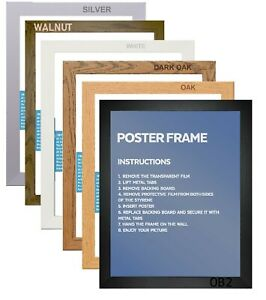 MODERN, A1 A2 A3 A4 A5 Picture Frame Poster Frame Photo Frame