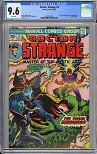 Doctor Strange #3 CGC 9.6 NM+ Wp Vs. Dormammu Marvel Comics 1974 Frank Brunner