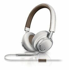 Philips Fidelio M1 On Ear Headphones with Neckband White M1Wt/00
