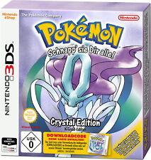 Pokémon: Crystal Edition (Kristall-Edition) (Nintendo 3DS, 2018)