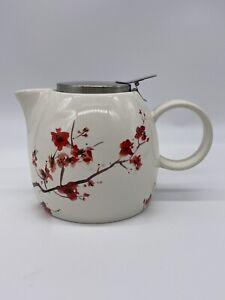 Tea Forte PUGG Ceramic Teapot Infuser No Loose Lea Tea Basket Included EUC Pot