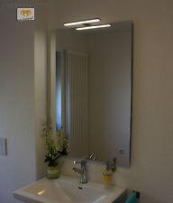 JOANA LED LEUCHT LAMPE BELEUCHTETER SPIEGEL MIT STEILFACETTE 100x60CM 1 LAMPE