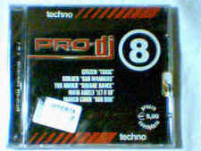 CD PRO-DJ TECHNO 8 SIGILLATO CITIZEN MARCO CORDI BUILDER THA NOOKIE MAFIA ANGELS
