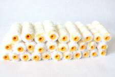 """Paint Roller 30 Rolls 4"""" inch Mini Covers Refill Gold Stripe Soft Woven 1/2"""" 016"""
