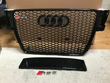 Audi a5 s5 b8 to rs5 Styled 2007 - 2012 Front Honeycomb Grillon Black Stealth