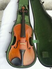 Original vintage violin laberte no crack Authentique ancien violon mirecourt 4/4