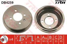 DB4259 TRW Bremstrommel Hinterachse