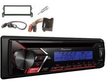 Pioneer Deh-s100ubb CD de coche MP3 Estéreo RDS clavija USB delantero entrada