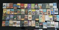 Bundle 60 cassettes Random Mix of shows, classical, easy listening