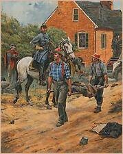 Don Troiani print, Confederate States Medical Service