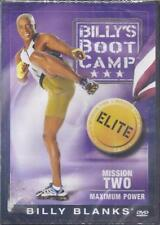 Brand New Billy's Boot Camp Mission 2 Maximum Power DVD 2006 Exercise Fitness