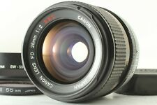 【Excellent+5】 Canon FD SSC S.S.C 28mm f/2 MF Wide Angle Prime Lens Japan 486