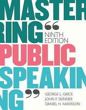 Mastering Public Speaking Plus NEW MyCommunicationLab for Public Speaking -- Acc