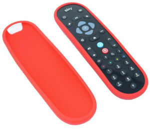 Sky Q Remote Control Shockproof Honeycomb COVER for latest Remote - RED - UK