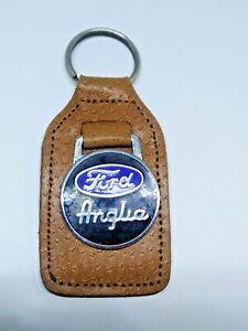 FORD ANGLIA KEYRING / BADGE / KEY RING # CAR