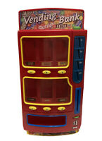 Mars M&M's Candy Vending Machine Penny Bank 2004 Snickers Twix Skittles Fun Size