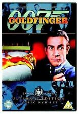 GOLDFINGER ULTIMATE EDITION SEAN CONNERY JAMES BOND 2 DISC SET DVD NEW & SEALED