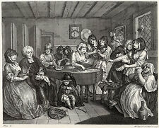 Hogarth Print Reproductions: A Harlot's Progress, Plate 6: Fine Art Print