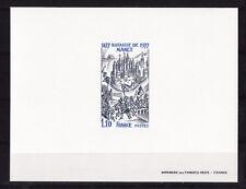 épreuve de luxe timbre France  bataille de Nancy   1977  num: 1943