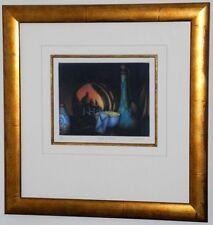 """Parfum de Venise""-Still Life-Schkolnyk-L/E-S/N-Mezzotint Etching-Custom Framed"
