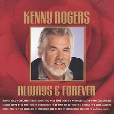 Always & Forever by Kenny Rogers CD 1999, 2 Discs 30 Hits