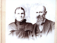 Monroe Washington Pioneers - Dr. & Mrs Lorenzo Stephens - antique photograph