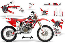 Honda CRF 450R Graphic Kit AMR Racing # Plates Decal Sticker Part 05-08 TXW