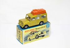 Matchbox Superfast No 12 Safari Land Rover In Its Original Box - Nr Mint Example