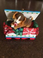 Carlton Cards A Trunk Full Of Trouble Dog Ornament 2000