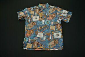 Reyn Spooner Kamaka Ukelele Hawaiian Aloha Shirt XL