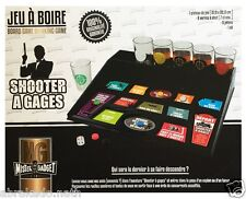 JEU D ALCOOL SHOOTER A GAGES 6 VERRES + PLATEAU DRINKING GAME AMBIANCE FETE