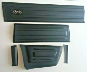 Body Cladding Side Moulding for Isuzu D-Max 2002-2005 Double Cab 4Drs Black 10pc