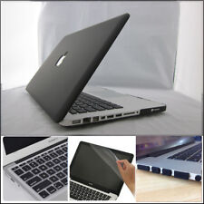 "4in1 BLACK Matte Hard Case Cover Skin for Macbook Pro 13"" 13.3 A1278 (2009-2012)"